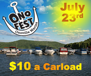 The 9th Annual OnoFest is on July 23, 2016 at Onoville Marina