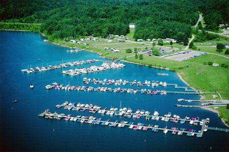 Aerial of Onoville Marina