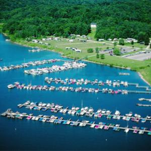 Aerial of Onoville Marina